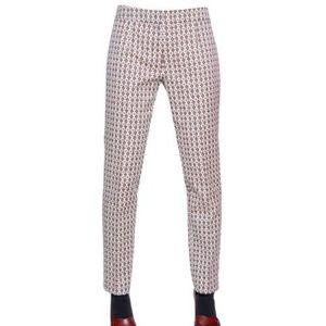 Tory Burch jacquard skinny pants